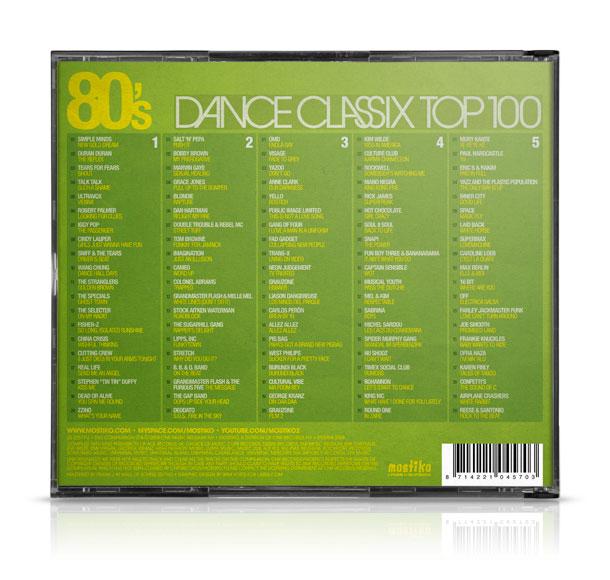 80's Dance Classix (Back)